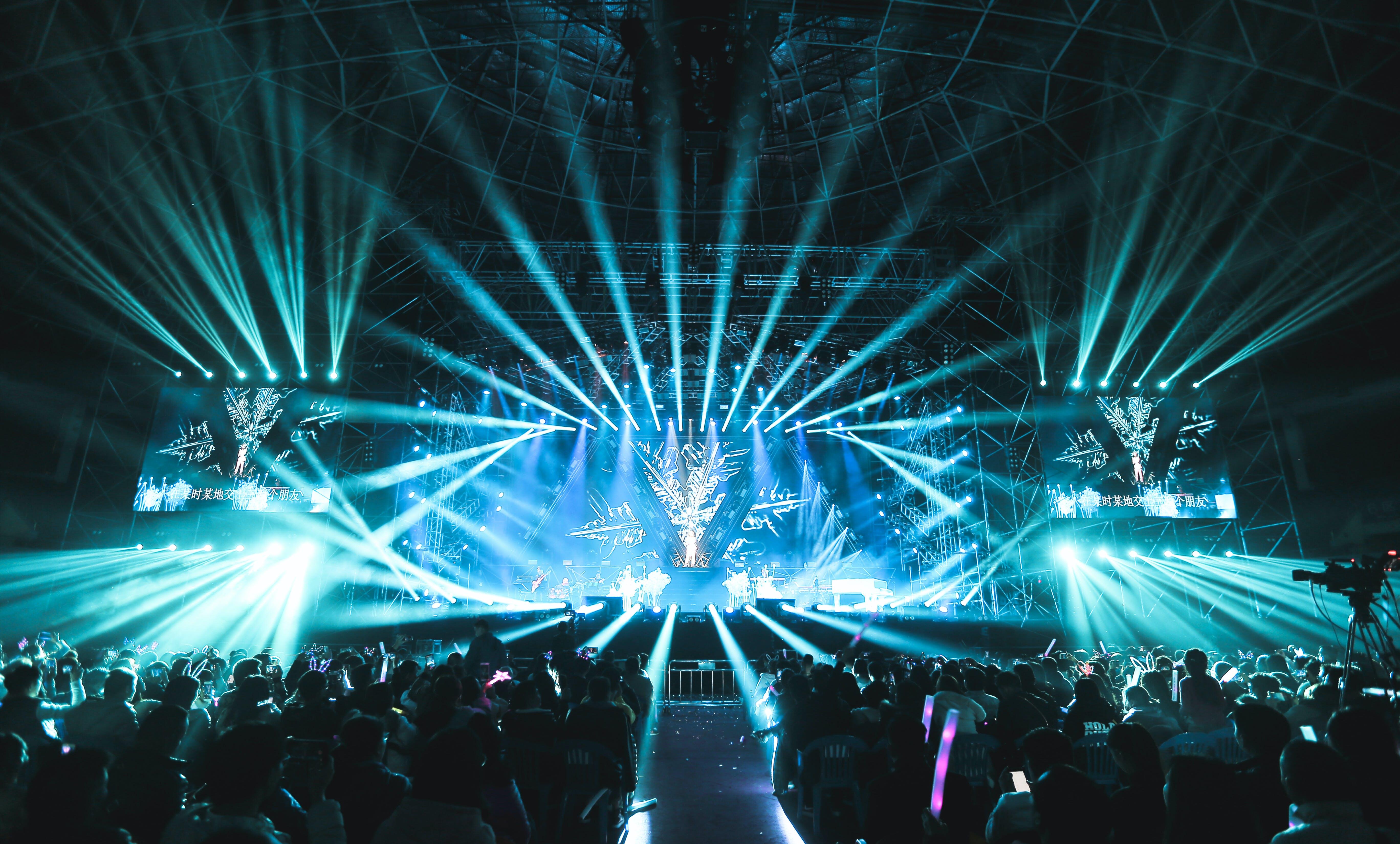 お祝い, コンサート, ステージ, パーティーの無料の写真素材