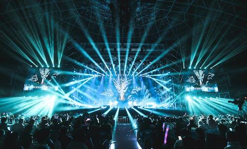 慶祝, 派對, 燈光, 燈火 的 免费素材图片