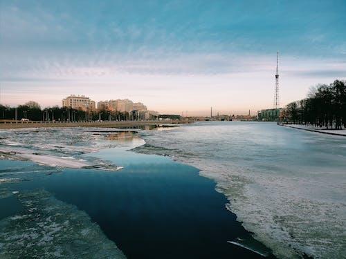 Gratis lagerfoto af dagslys, flod, forkølelse, frossen