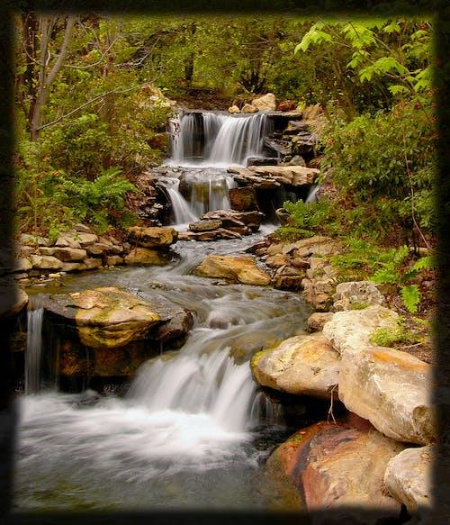Free stock photo of waterfalls