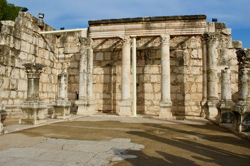 Foto d'estoc gratuïta de antic, ruïnes, sinagoga