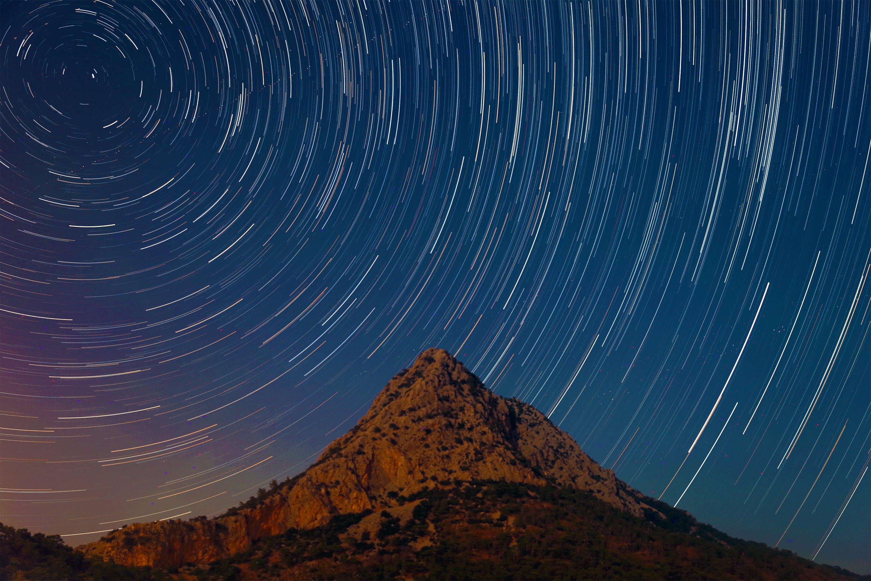 Starry Sky In Timelapse Mode