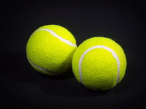 Foto profissional grátis de bola de tênis, bolas, branco, cabeludo