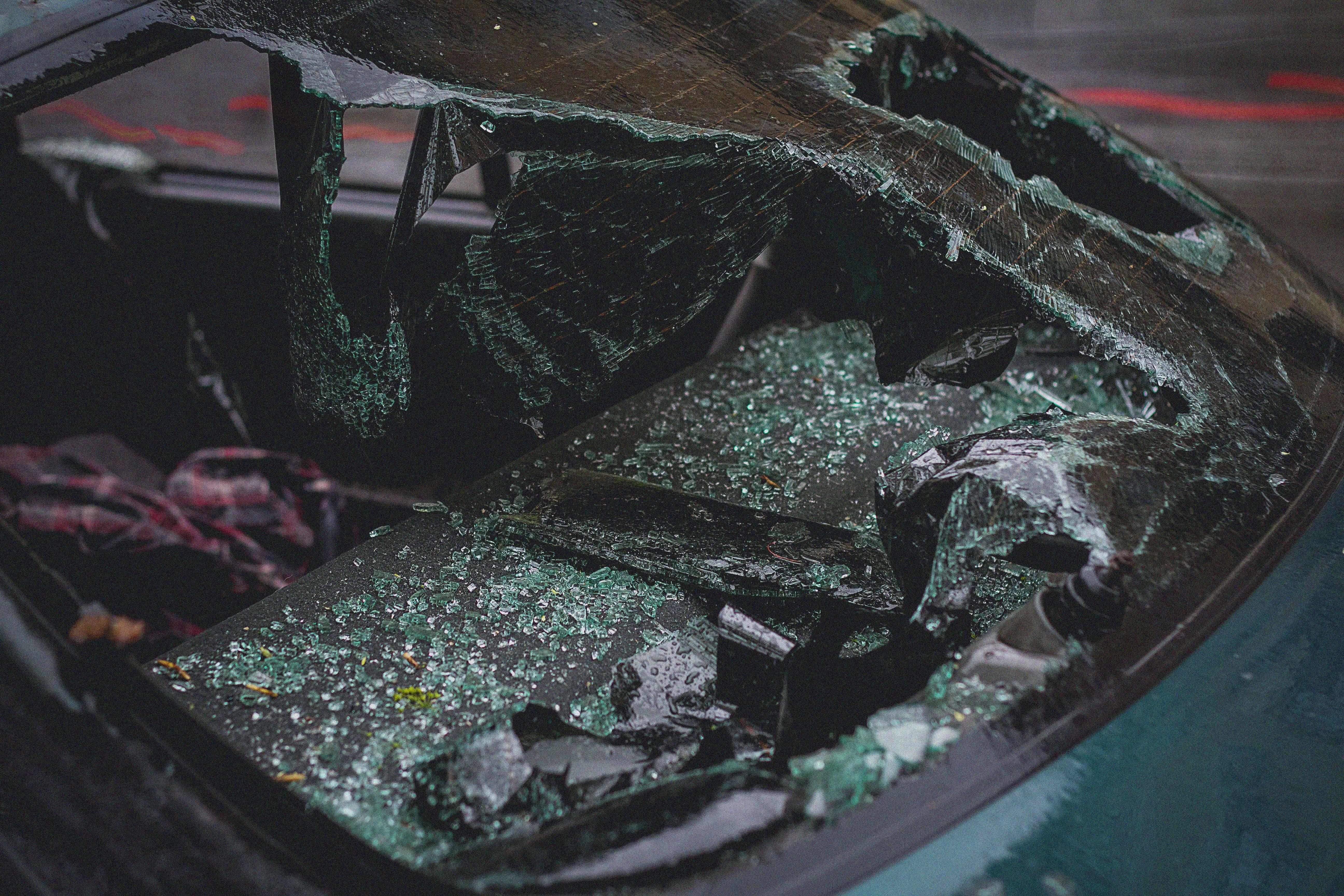 Gratis lagerfoto af bil, close-up, forrude, glas