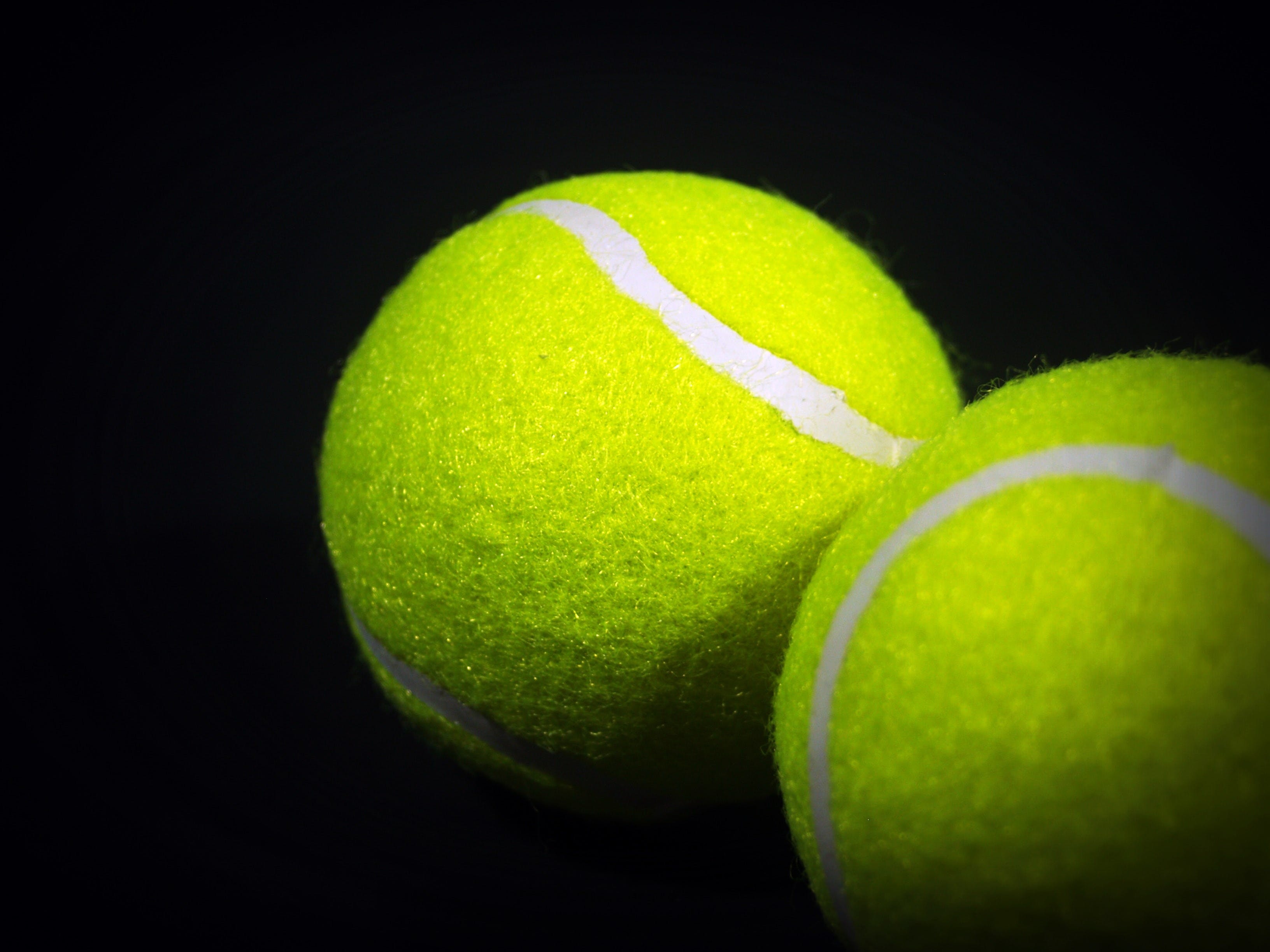 balls, close-up, tennis