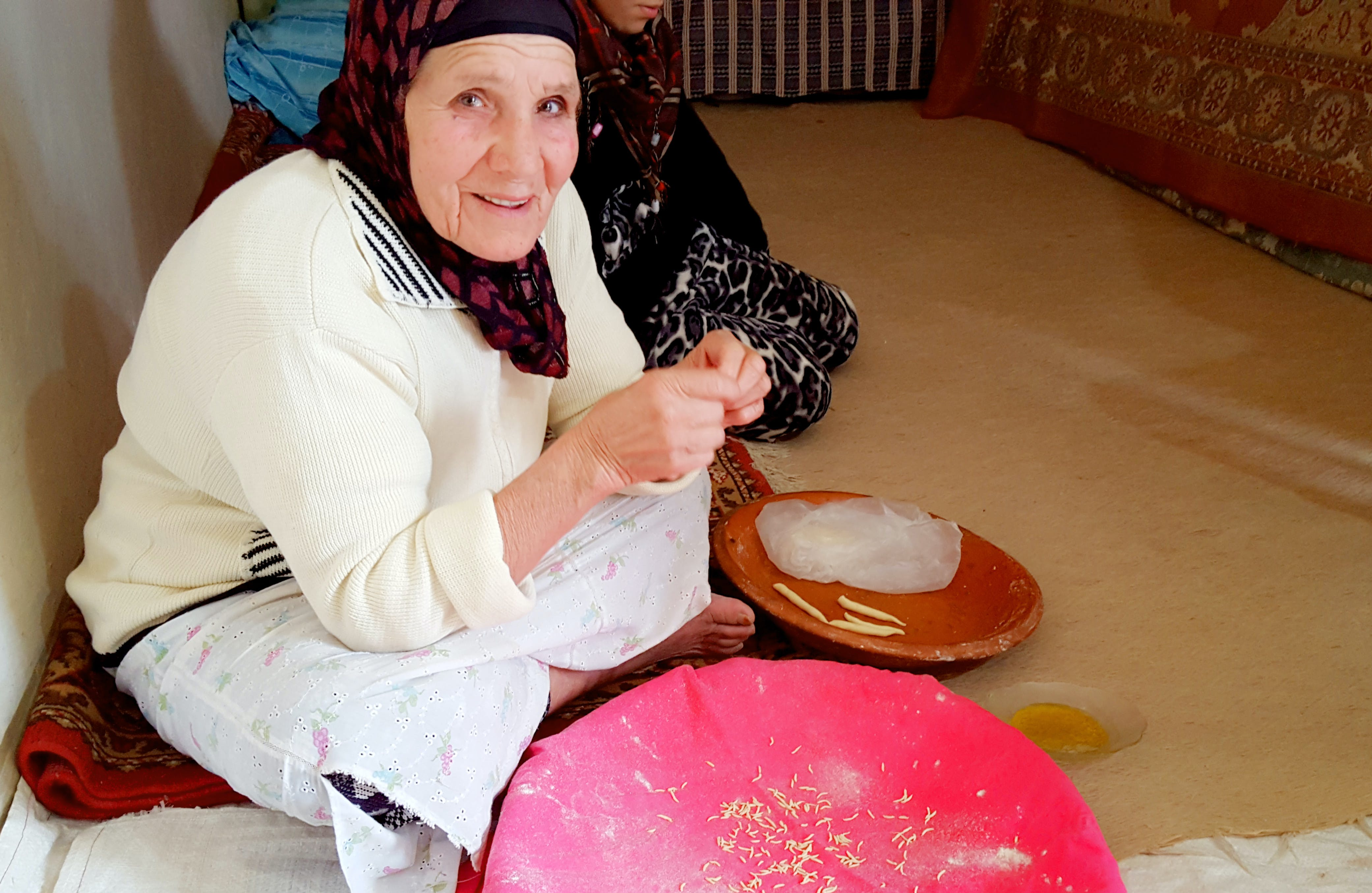 Free stock photo of grandma, handmade, muslim, old woman
