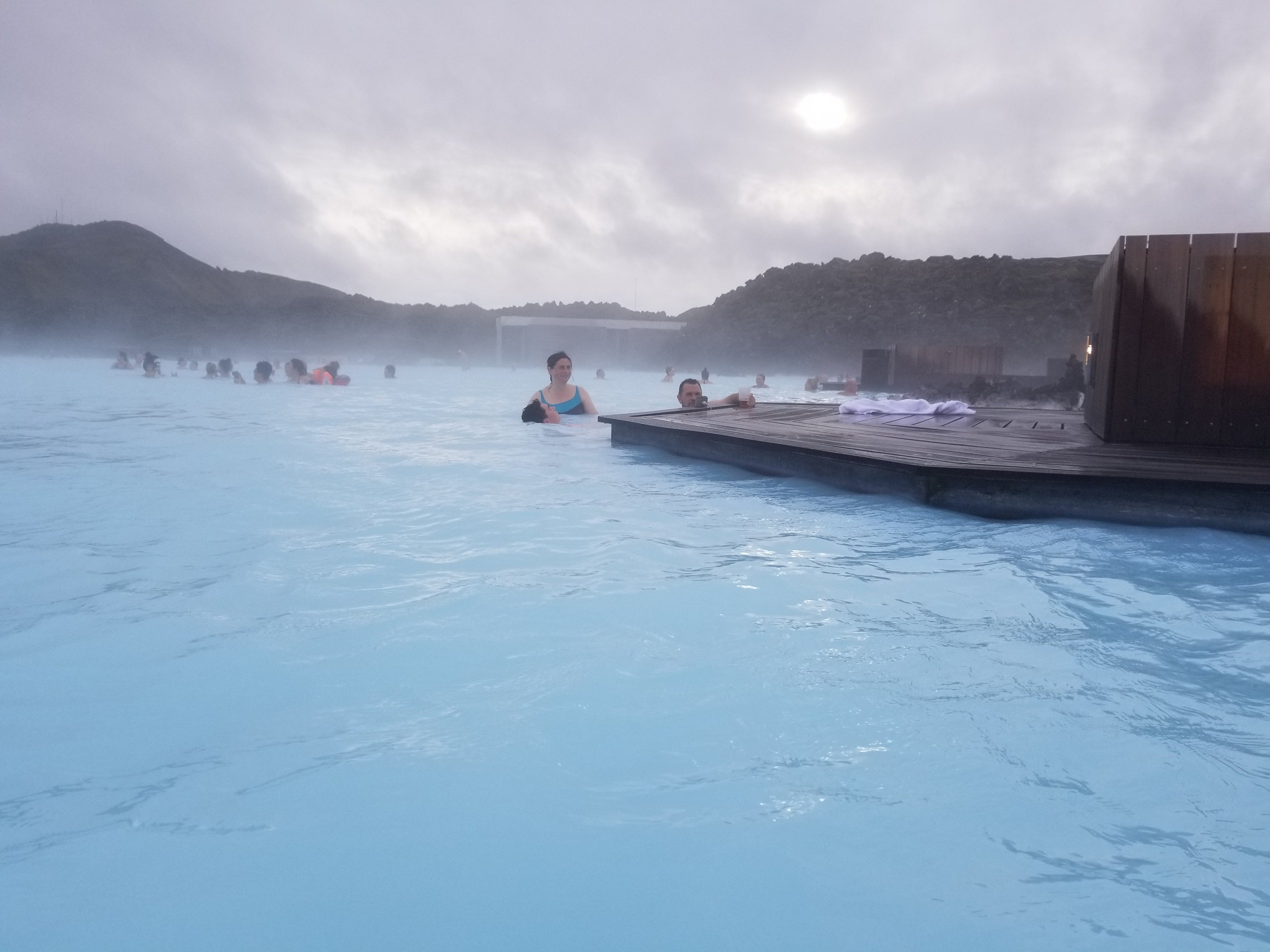 Free stock photo of blue lagoon, geothermal spa, iceland, people bathing