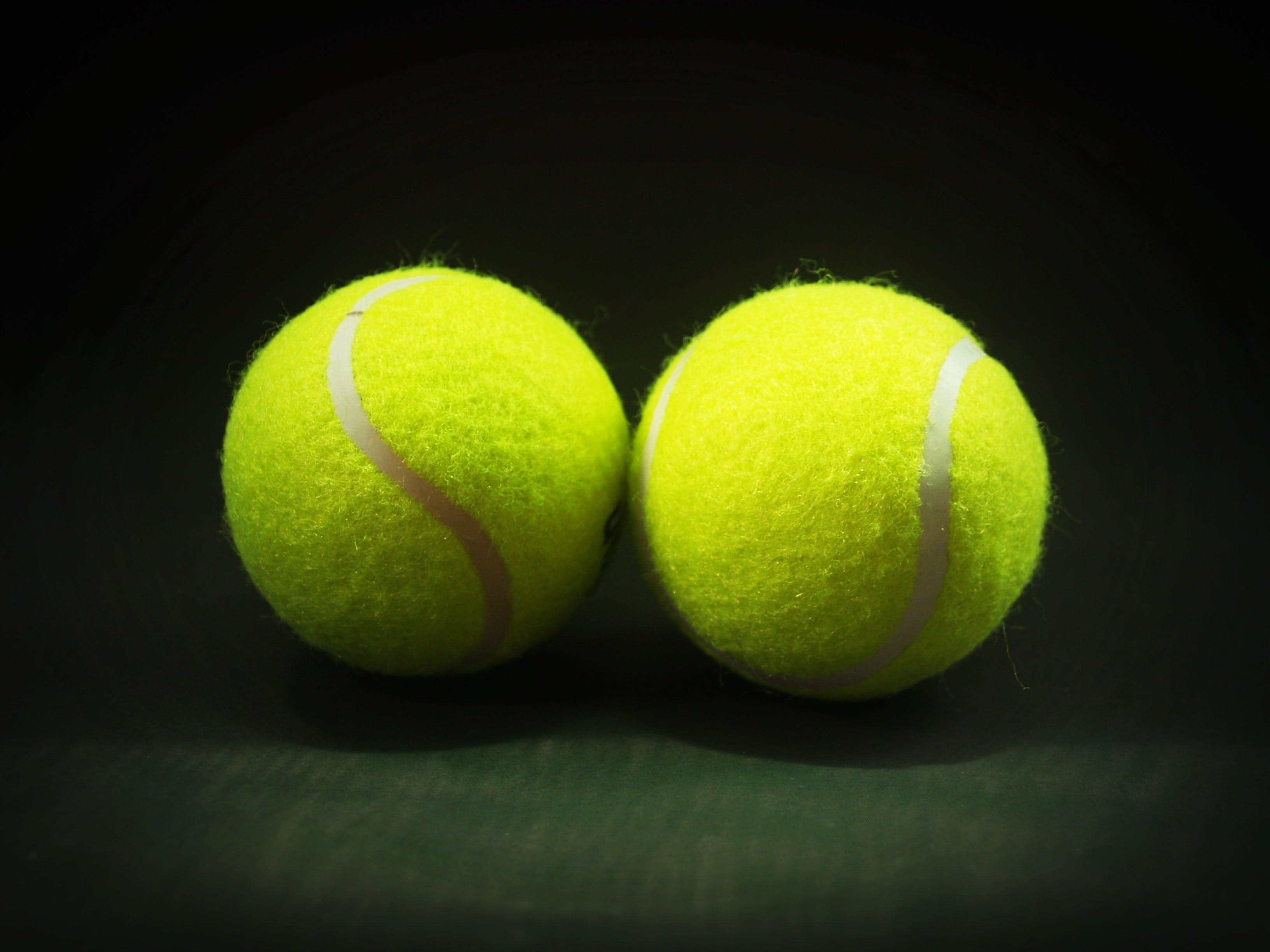 Two Tennis Balls
