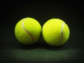 ball, circle, tennis