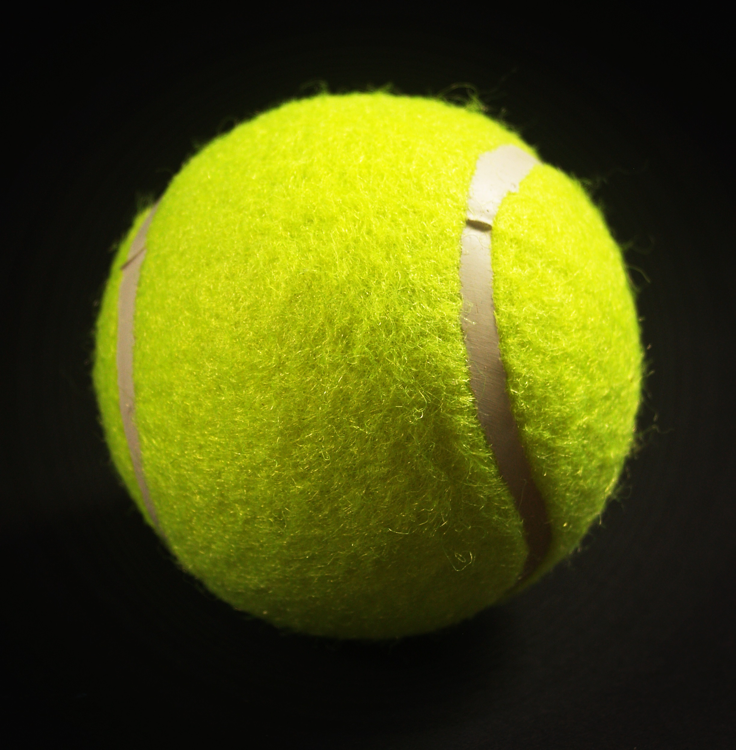 floating tennis ball