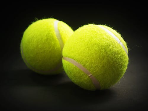 Two New Tennis Balls