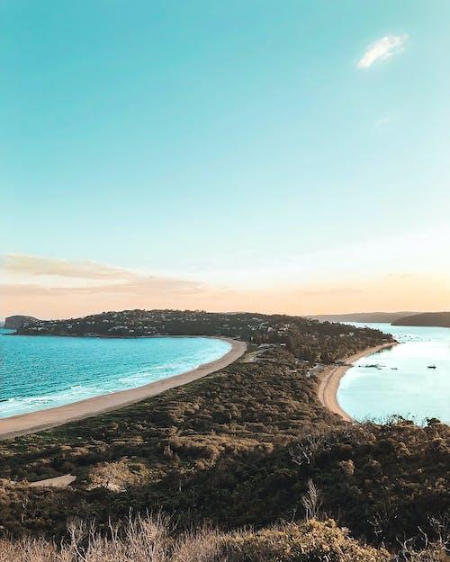 Immagine gratuita di acqua, australia, cielo, erba