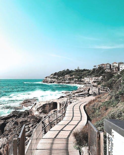 Fotobanka sbezplatnými fotkami na tému architektúra, Austrália, austrálsky, bondi beach