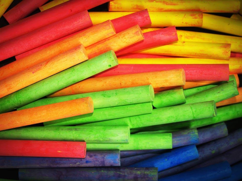 Green and Orange Tubes