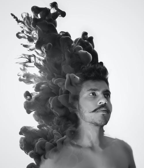 Free stock photo of Adobe Photoshop, art, artistic, black and white