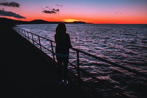Gratis stockfoto met gouden horizon, idyllisch, kalm, kalmte