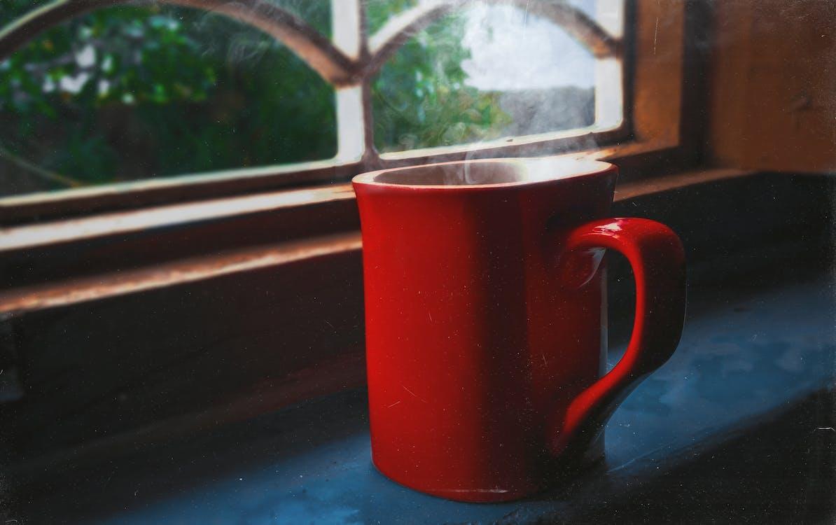 Darmowe zdjęcie z galerii z czerwony, deszcz, kubek