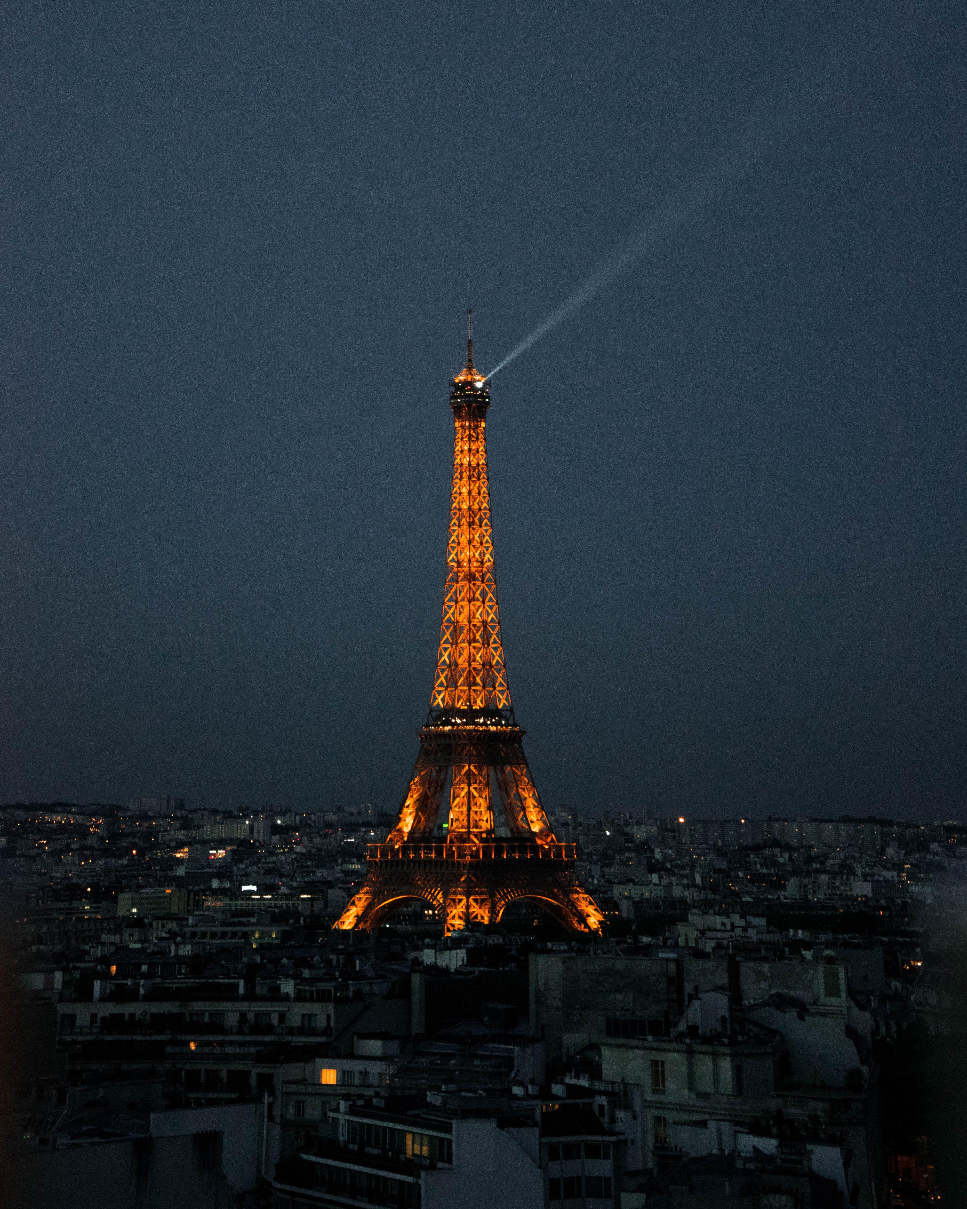 Бесплатное стоковое фото с архитектура, башня, вечер, город
