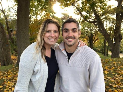 Free stock photo of couple, fall, fall colors, family