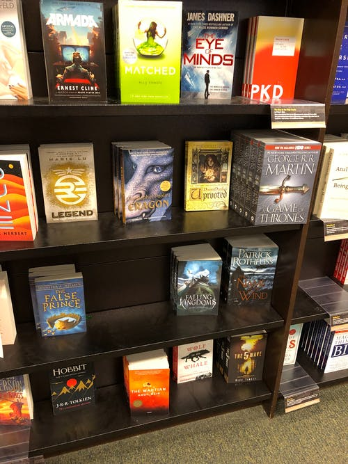 Free stock photo of book, book shelves, books