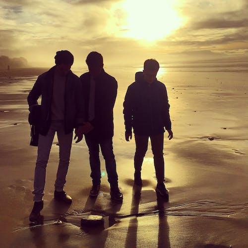 Δωρεάν στοκ φωτογραφιών με soleil, trois, άμμος, άνδρες