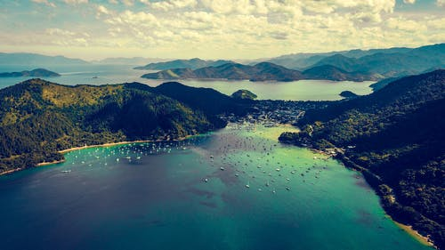 Birds Eye Photography of Body of Water