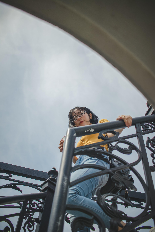 Gratis stockfoto met 20-25 jaar oude vrouw, Aziatisch meisje, aziatische vrouw, brillen