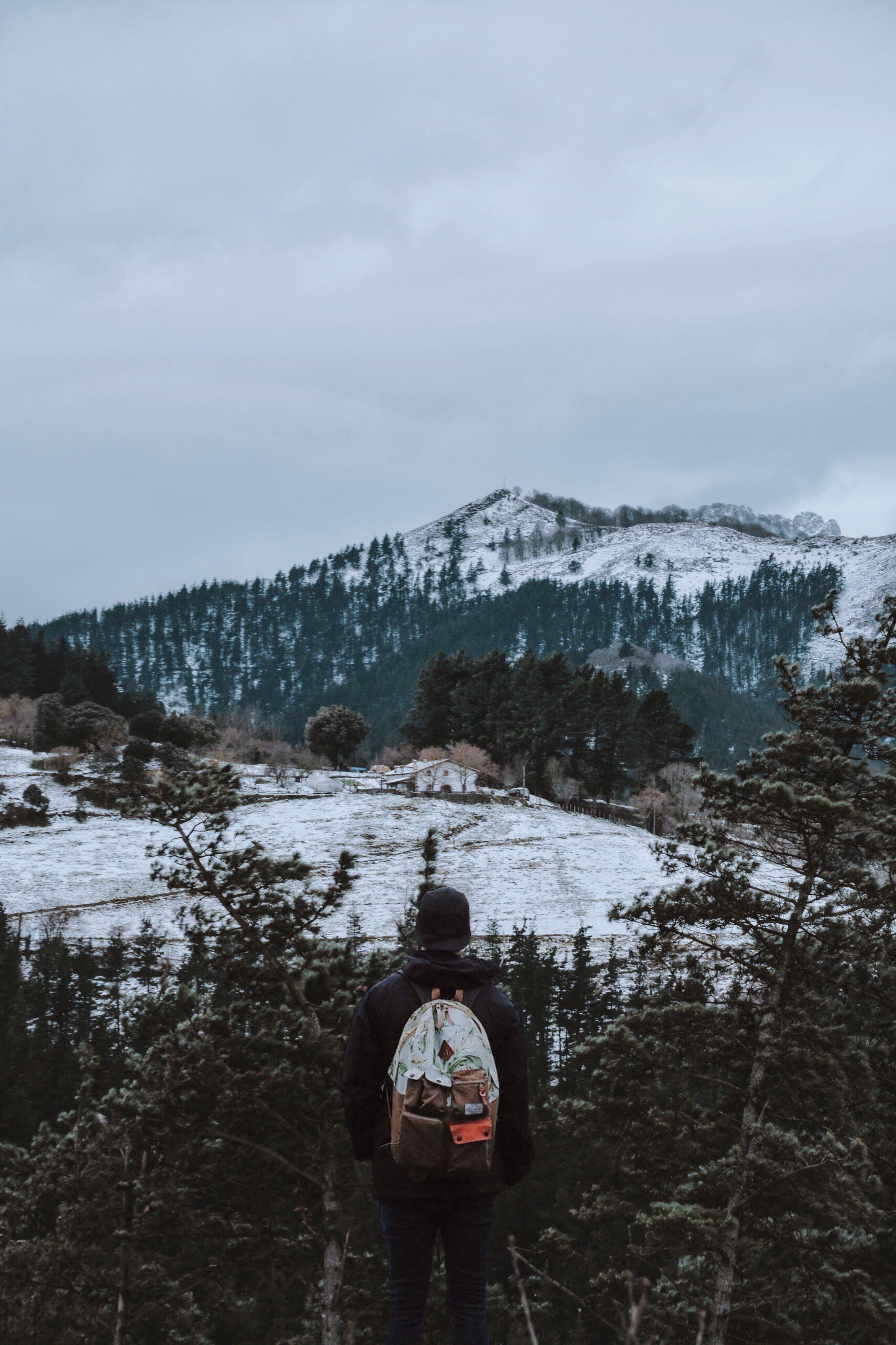 açık hava, ağaçlar, bulut, buz içeren Ücretsiz stok fotoğraf