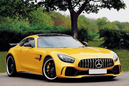 Ảnh lưu trữ miễn phí về amg, gtr, màu vàng, Mercedes