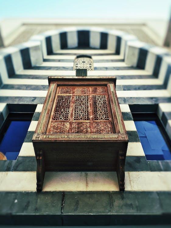 Free stock photo of architecture art, mashrabiya