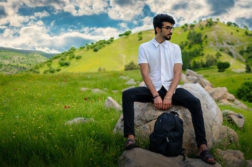 Základová fotografie zdarma na téma fashion modelka, hora, horský výhled, móda