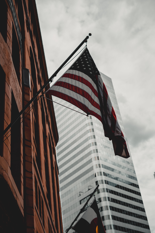 Kostnadsfri bild av administrering, amerikanska flaggan, arkitektonisk design, arkitektur