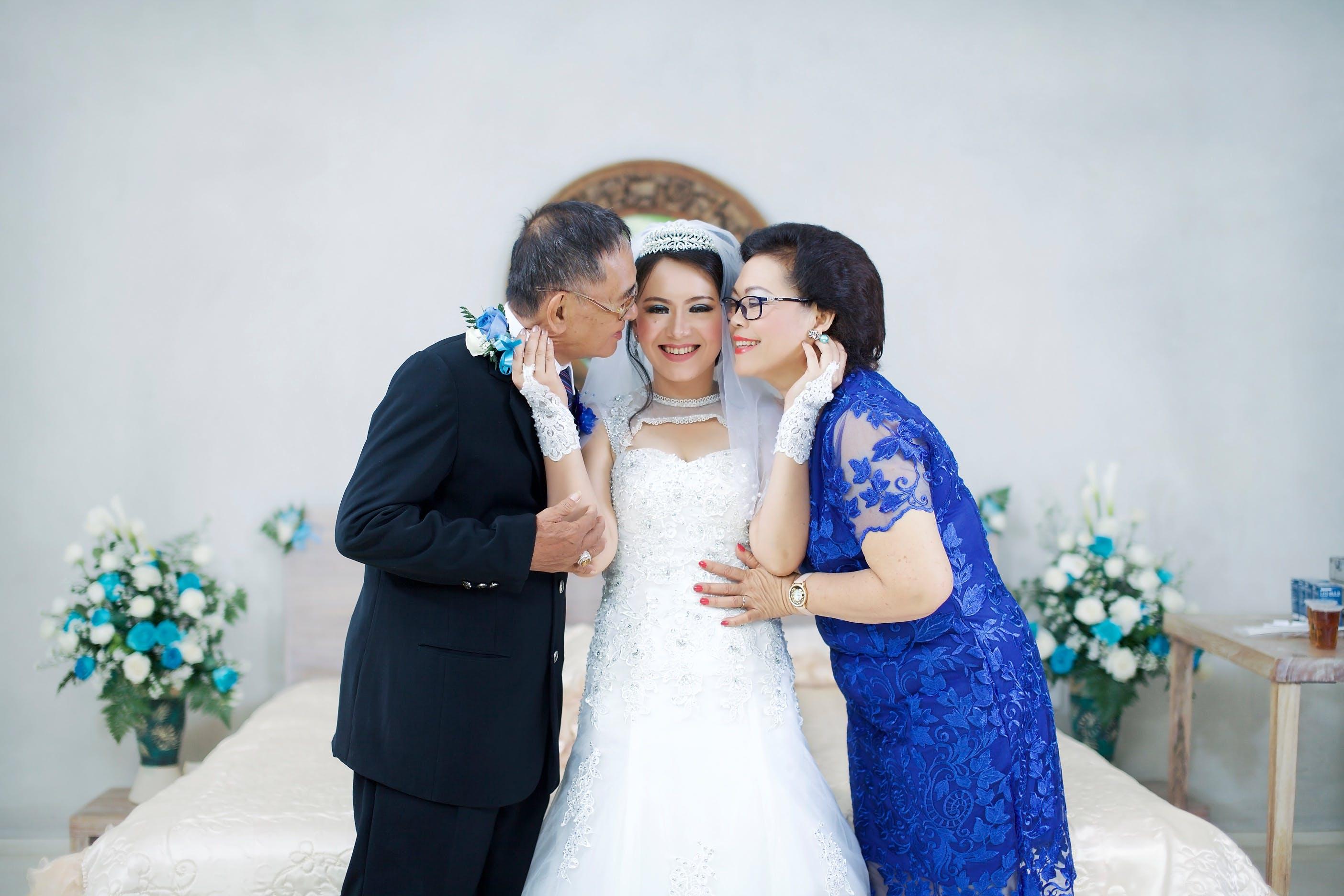 Foto d'estoc gratuïta de adults, amor, boda, bonic