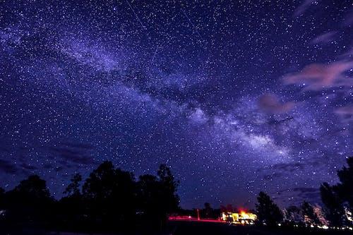 Foto stok gratis astrologi, bening, bersih, Bima Sakti