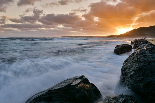 Foto stok gratis air, batu, cairan, hawaii