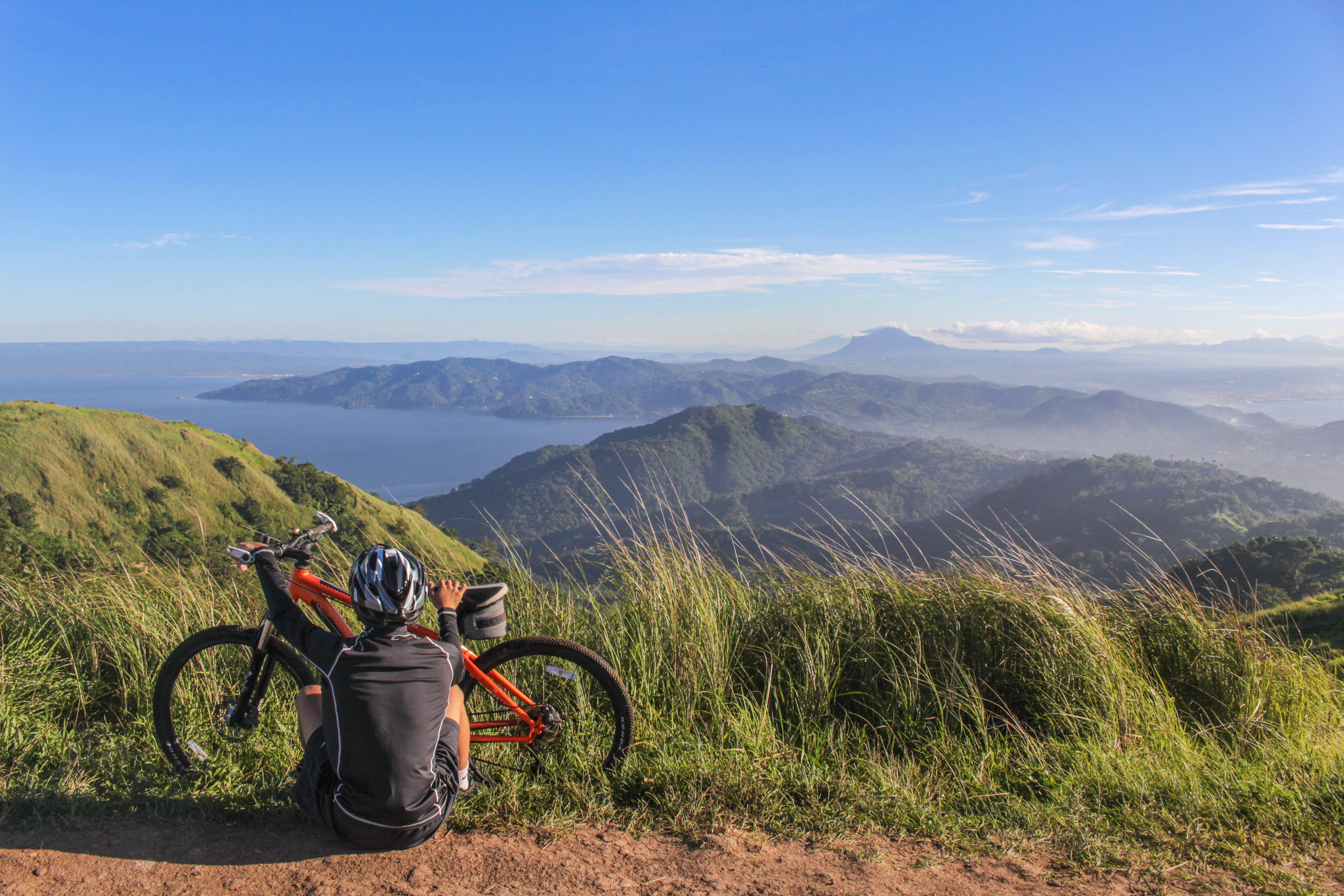 Δωρεάν στοκ φωτογραφιών με background, mountain bike, άθλημα, αναπαύομαι