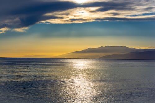 Free stock photo of by the sea, mediterranean sea, sea, sunset