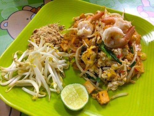 sokak yemeği, thai yemeği, ผัด ไทย, อาหาร ไทย içeren Ücretsiz stok fotoğraf