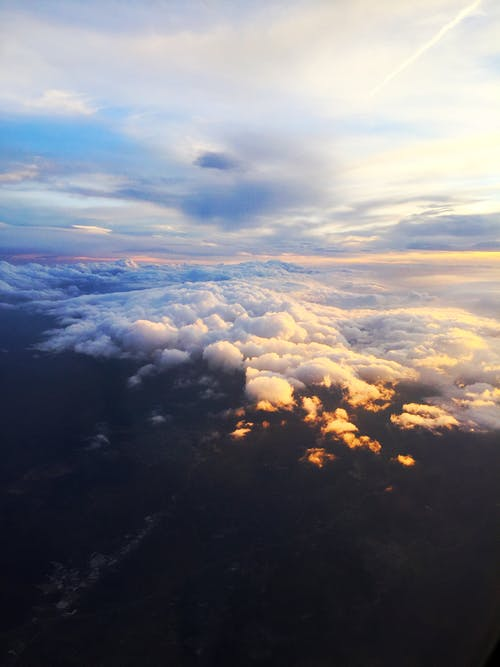 Free stock photo of above cloud, cloud sky, cloudy sky