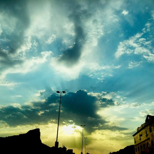 Free stock photo of cloudy, cloudy sky, dramatic sky