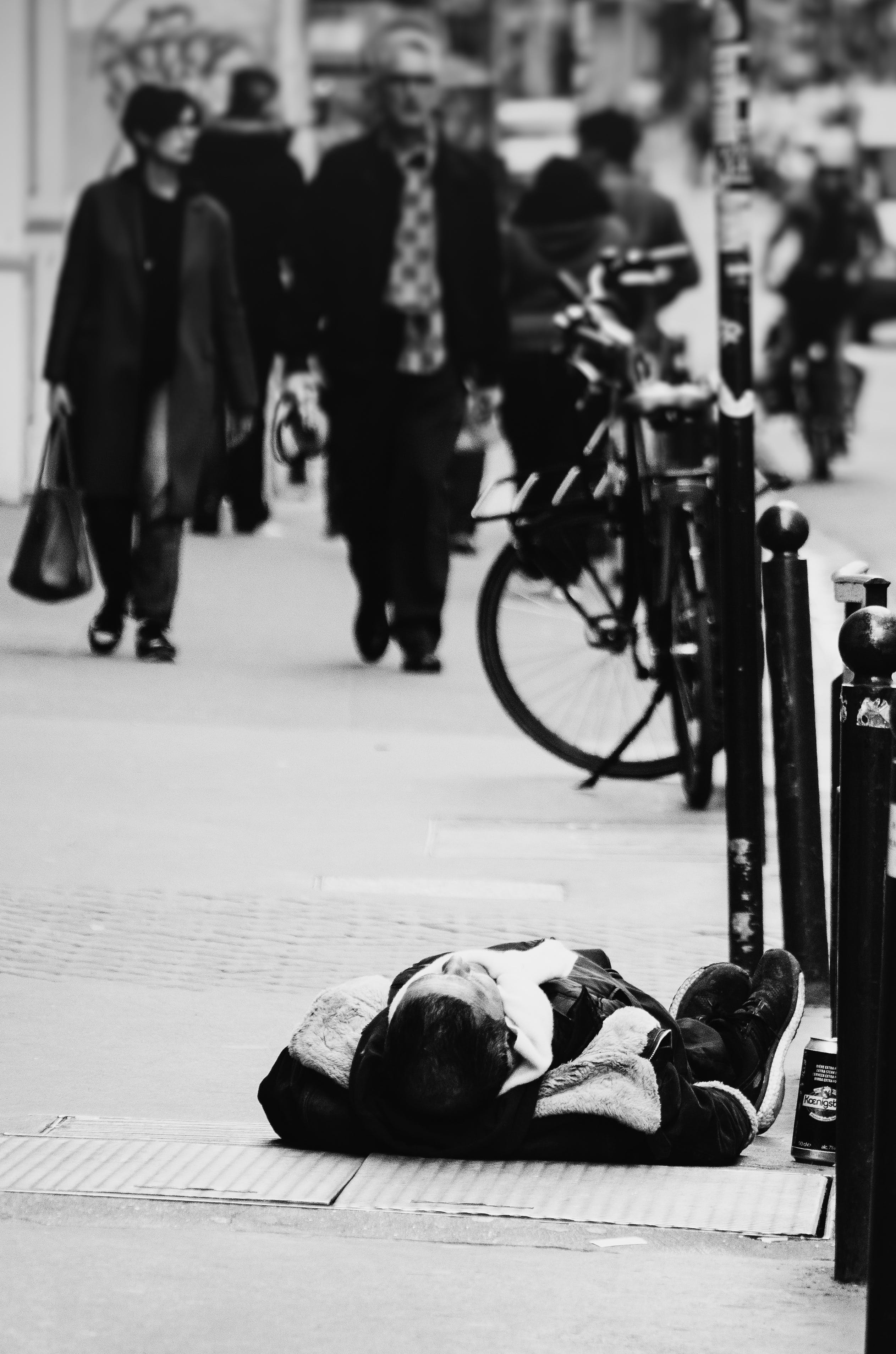 Free stock photo of city life, homelessness