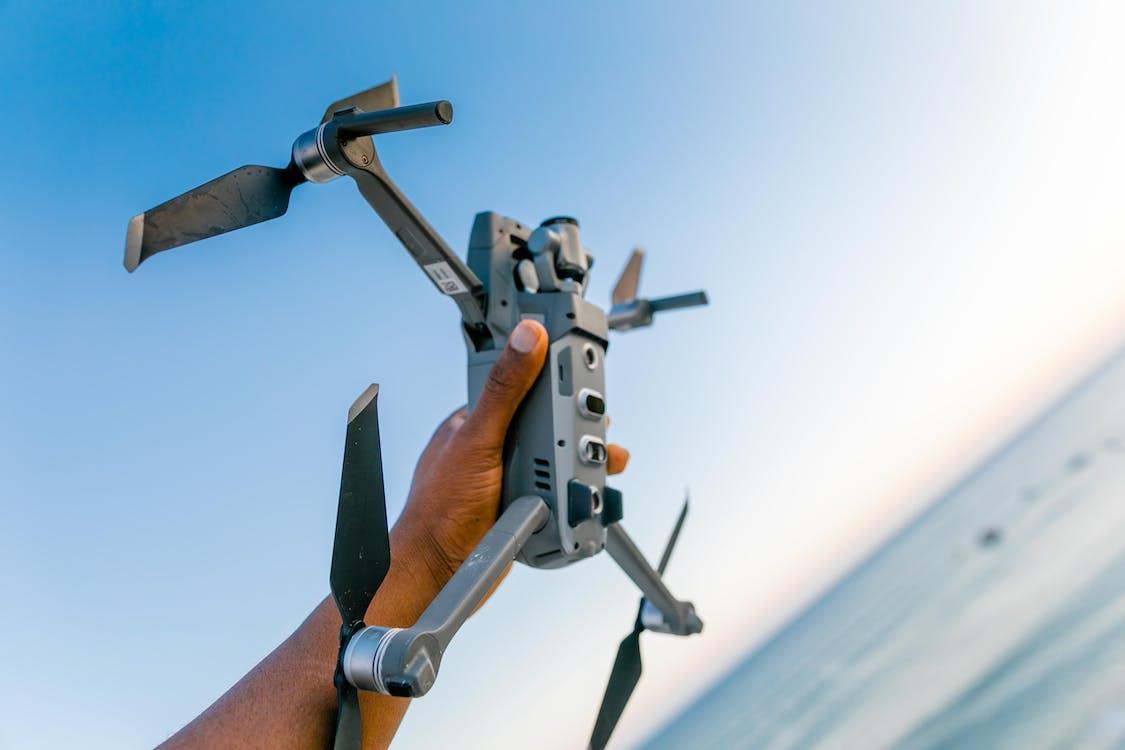 al aire libre, cámara, cámara de dron