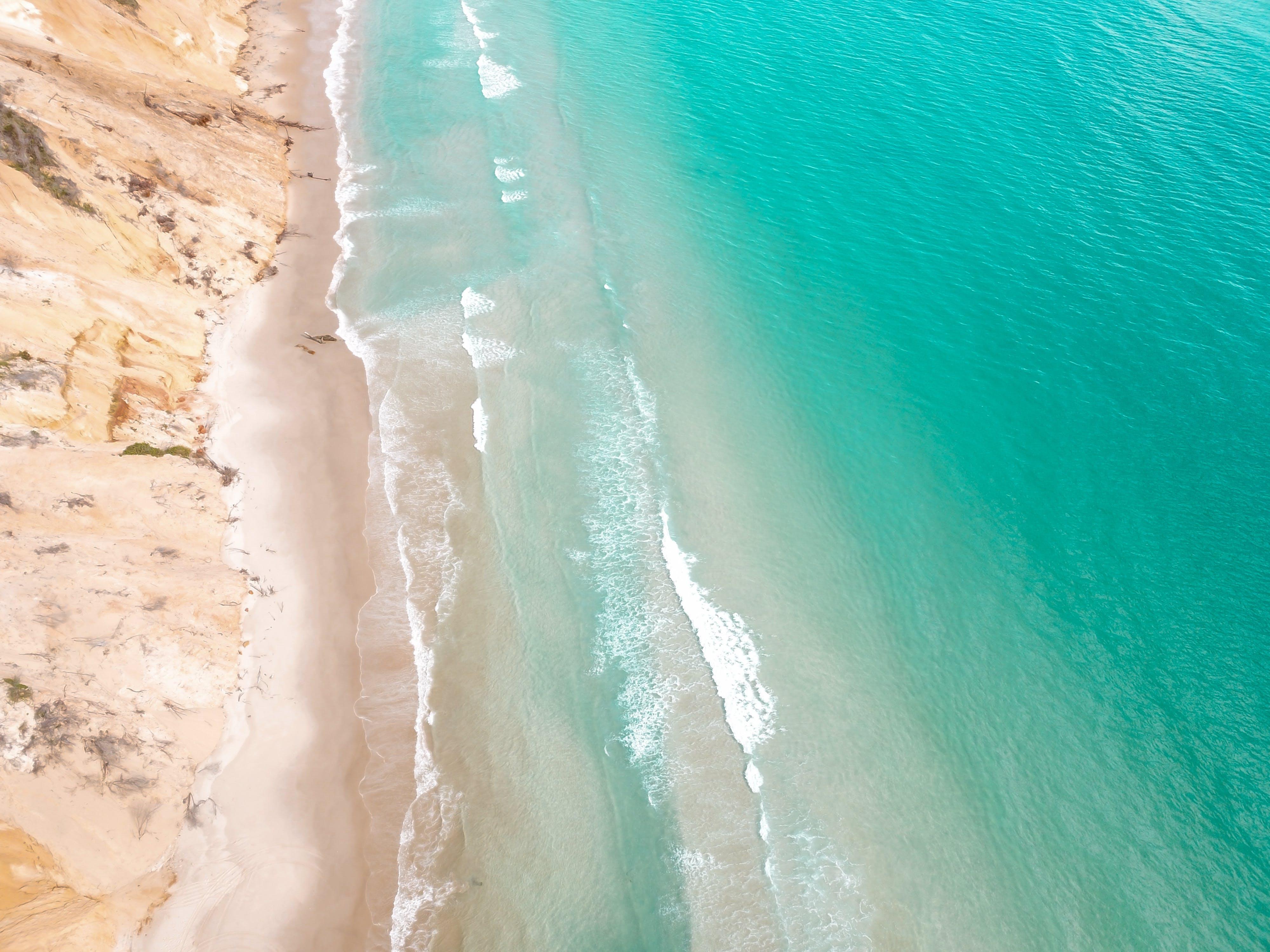 Základová fotografie zdarma na téma cestování, dovolená, dron skamerou, fotka zvysokého úhlu