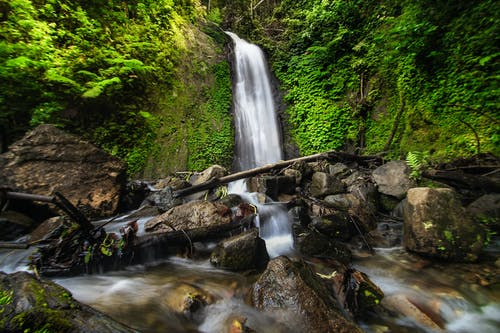 Long Exposure Photography of Waterfalls