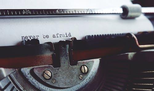 Nunca Tenha Medo Da Máquina De Escrever