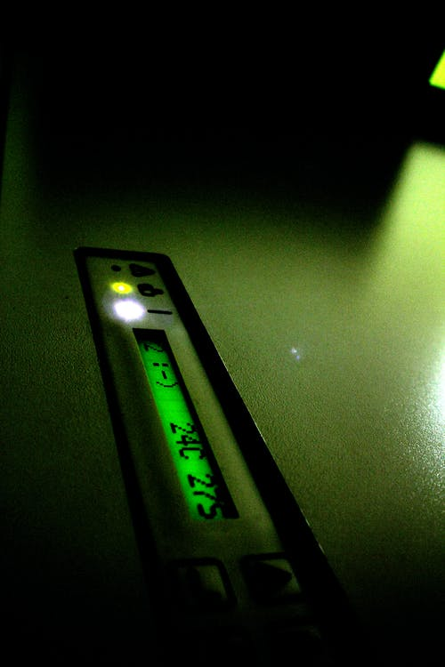 Free stock photo of printing press, temperature display