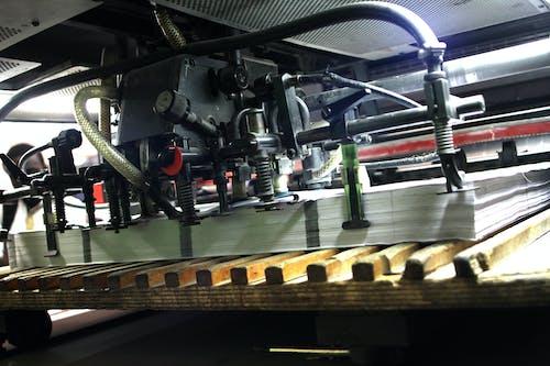 Free stock photo of printing house, printing press, vacuum paper lifter