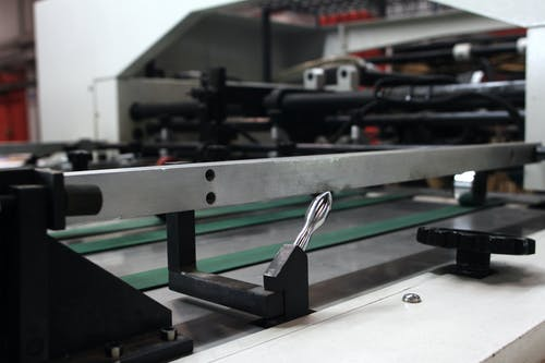 Free stock photo of large format printer, printing house