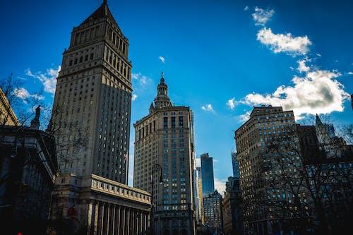 Foto stok gratis estetika, langit, new york