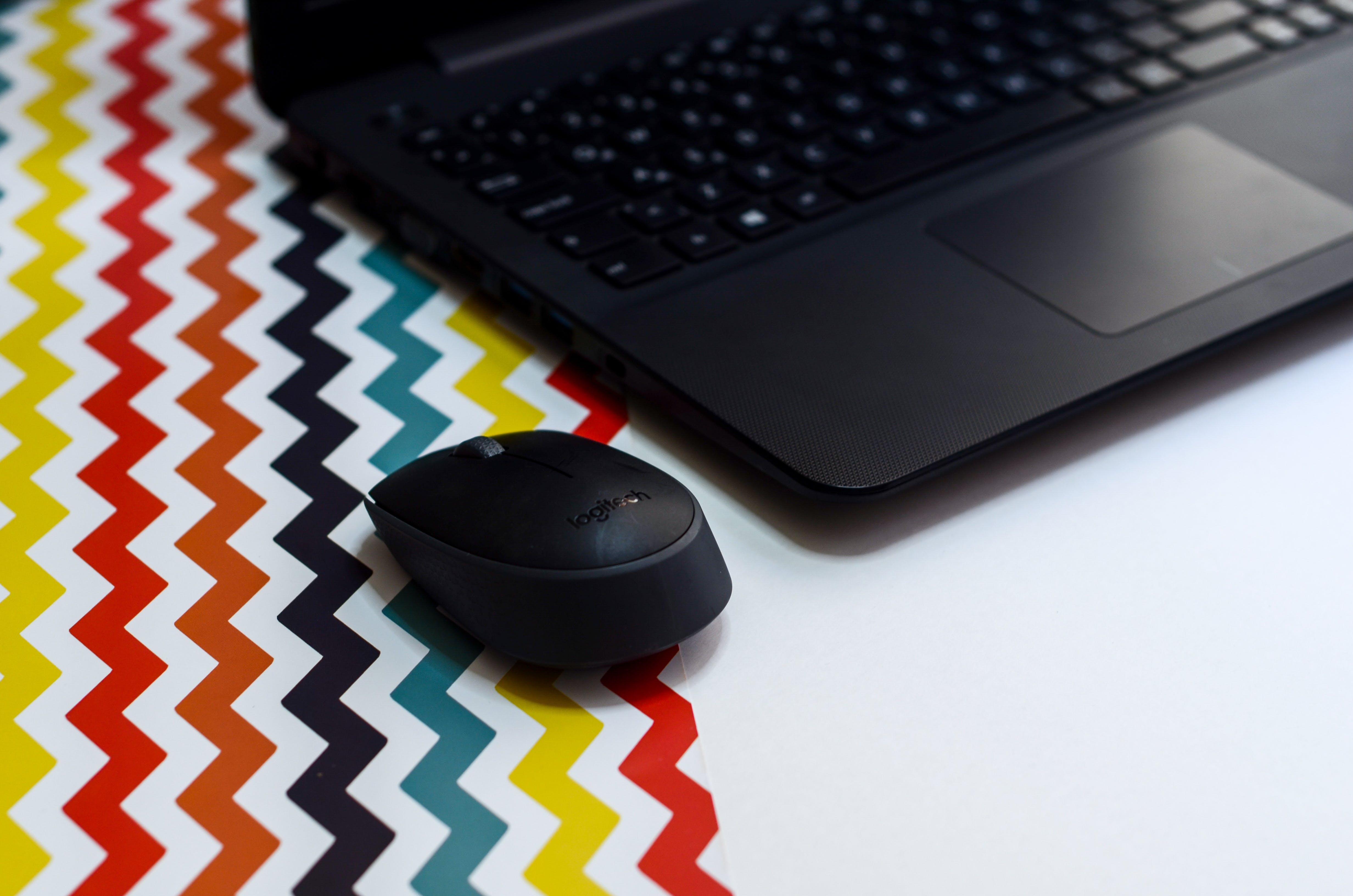 Immagine gratuita di computer, cordless, laptop, mouse